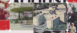 Postcards showing the Woodner when it used to be a luxury apartment-hotel in the '50s and '60s, from the collection of John DeFerrari