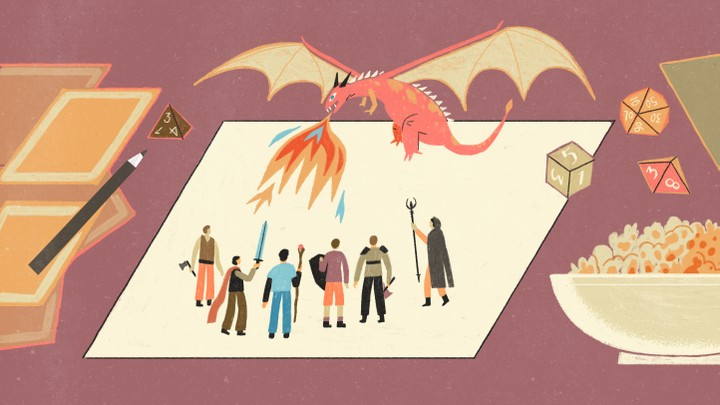 Playing Dungeons Dragons Together For 30 Years The Atlantic