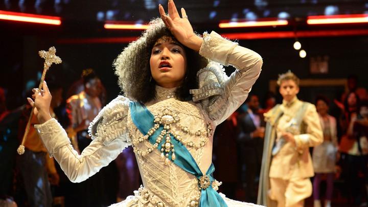 Indya Moore as Angel in 'Pose'