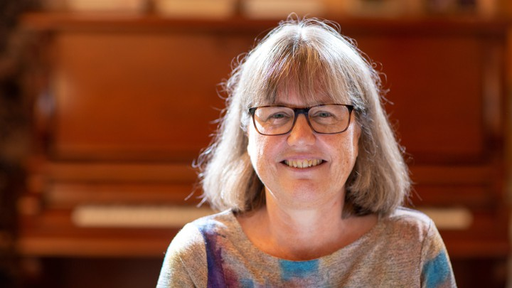 Nobel Prize winner Donna Strickland at her home in Ontario, Canada