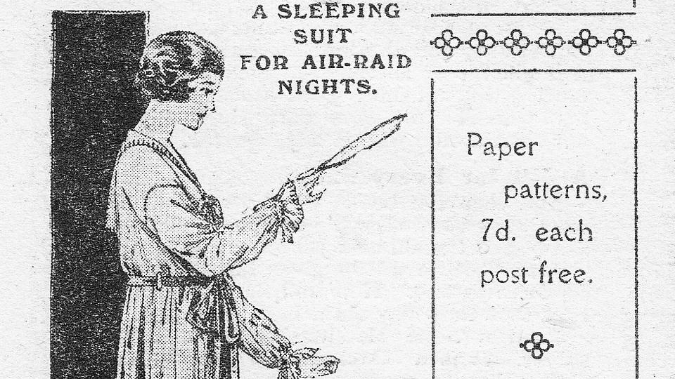 Ad for a sleeping suit