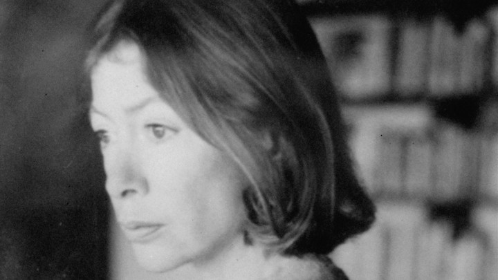 Joan Didion, photographed in 1979
