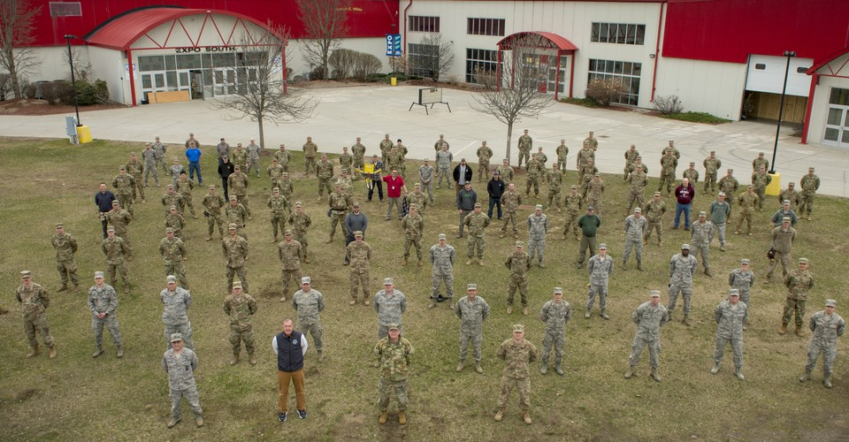 The National Guard Built A Vermont Hospital In Four Days The Atlantic