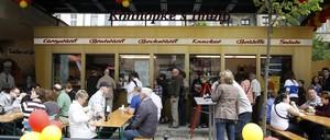 Konnopke's sausage stand