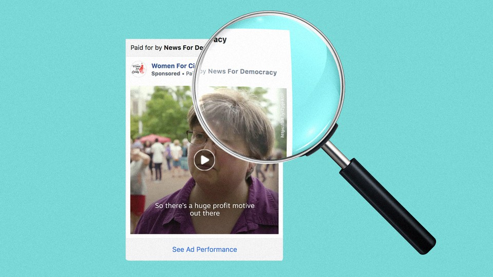 New for Democracy Ads from Facebook Political Ad Archive