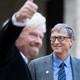Bill Gates and Richard Branson