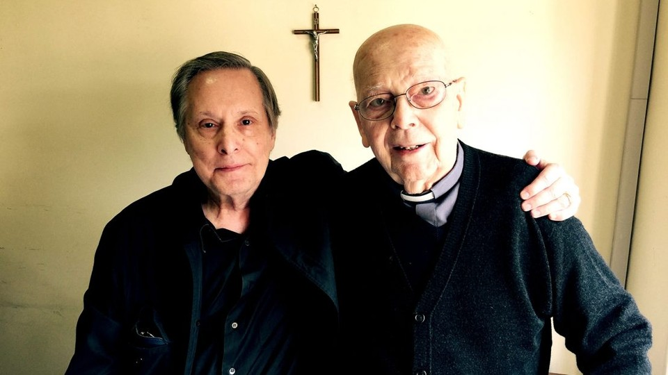 The director William Friedkin and Reverend Gabriele Amorth