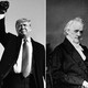 Presidents Richard Nixon, Donald Trump, and James Buchanan