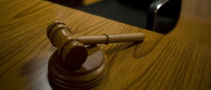 A gavel is pictured.