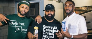 Fresh Fest co-founder Michael Potter works on his own home brew as he tries to elevate the profile of black beer brewers across the country.
