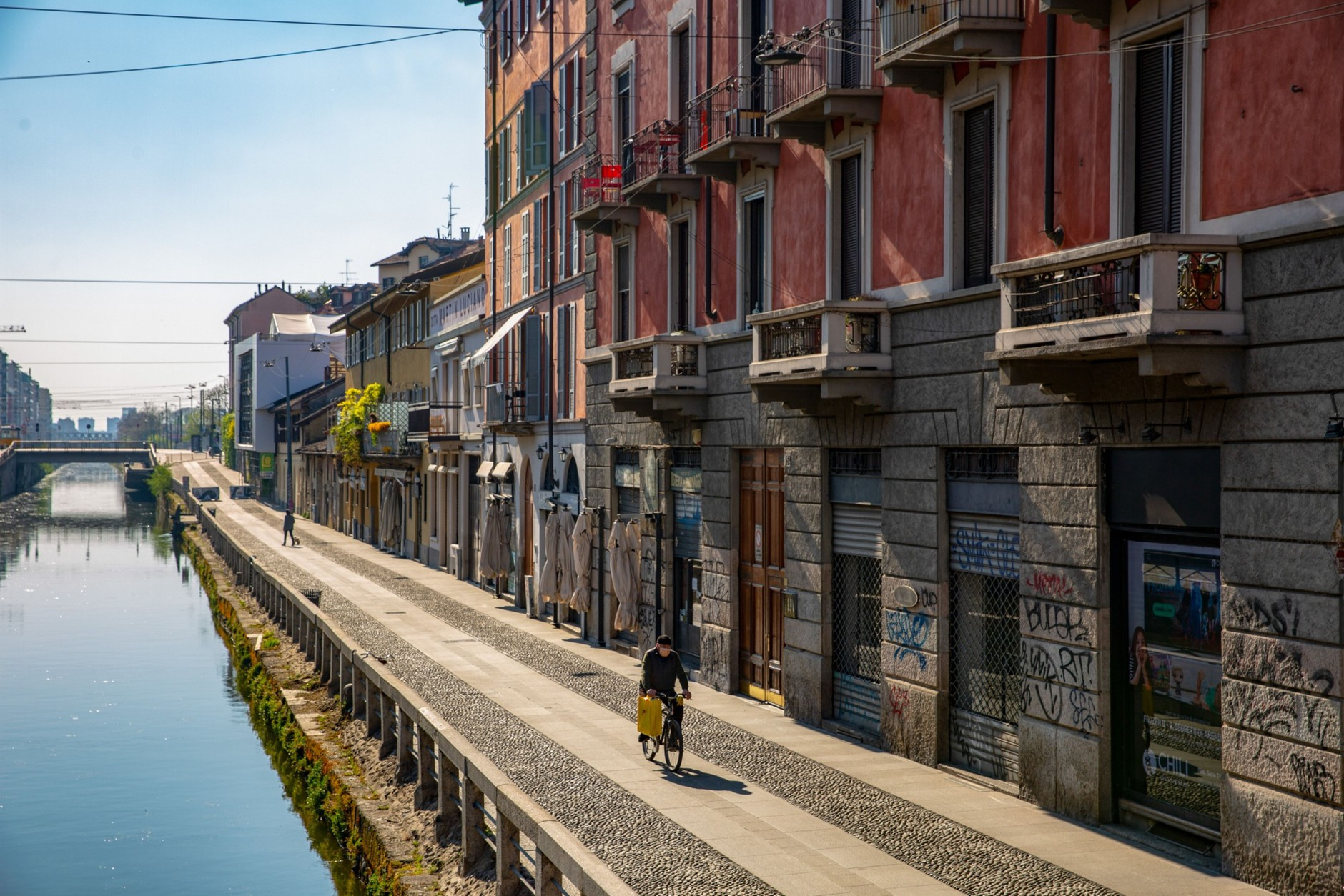 From Italy, a Car-Free Blueprint for Life After Lockdown