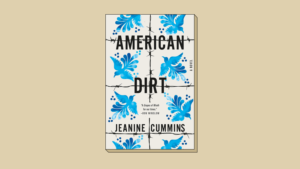 The jacket cover of 'American Dirt'