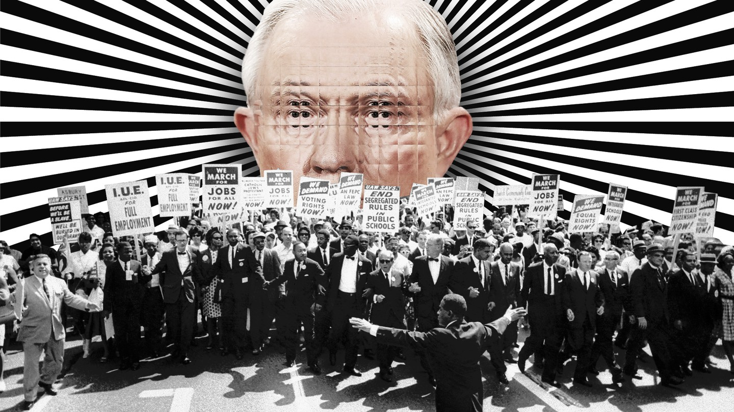 Jeff Sessions Civil Rights March