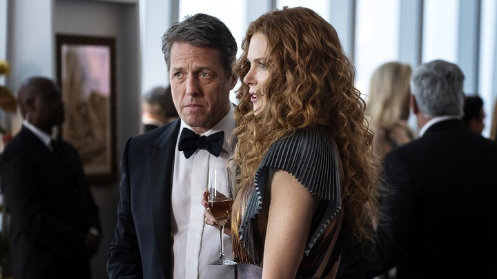 """Hugh Grant and Nicole Kidman in a scene from HBO's """"The Undoing"""""""