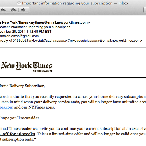 The New York Times Just Spammed 8 Million People By Accident The Atlantic