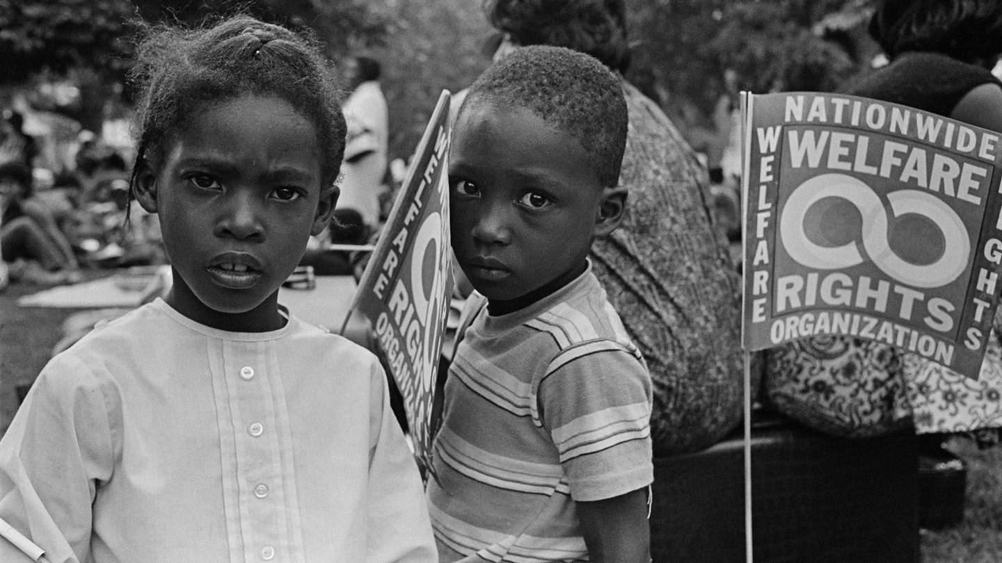kids in Resurrection City, 1968 Poor People's Campaign in Washington