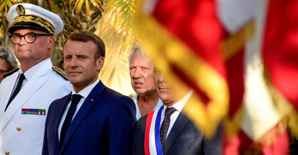 France S Emmanuel Macron Expounds As The World Burns The Atlantic