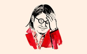 illustration of Kevin Kwan