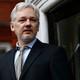 WikiLeaks founder Julian Assange makes a speech from the balcony of the Ecuadorian Embassy in London.