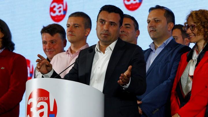 MacedonianPrime Minister Zoran Zaev