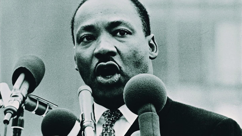 Martin Luther King Jr. speaking