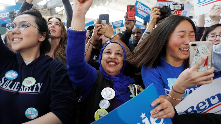 Supporter of Bernie Sanders