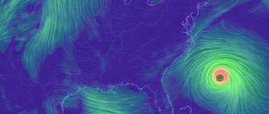visualization of weather patterns