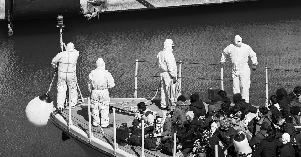 The Red Cross Quarantine Ships Off the Coast of Italy - The Atlantic