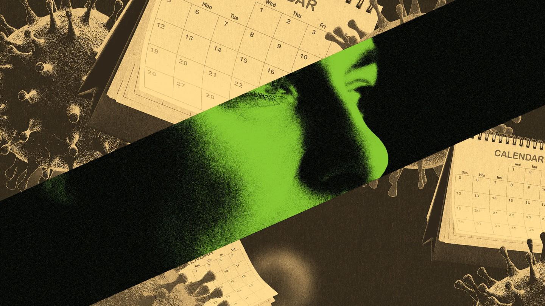 Calendars and coronavirus particles