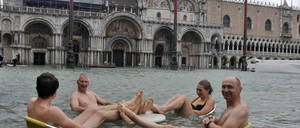 Venice flood waters