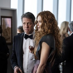 "Hugh Grant and Nicole Kidman in a scene from HBO's ""The Undoing"""