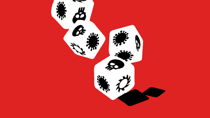 art of rolling the dice with the COVID-19 pandemic