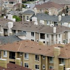 A residential area in San Jose, California, is pictured.