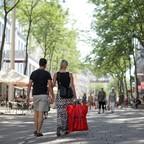 photo: strollers in Vienna