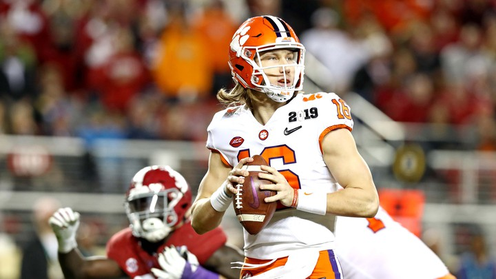 Why Is Trevor Lawrence Playing College Football The Atlantic