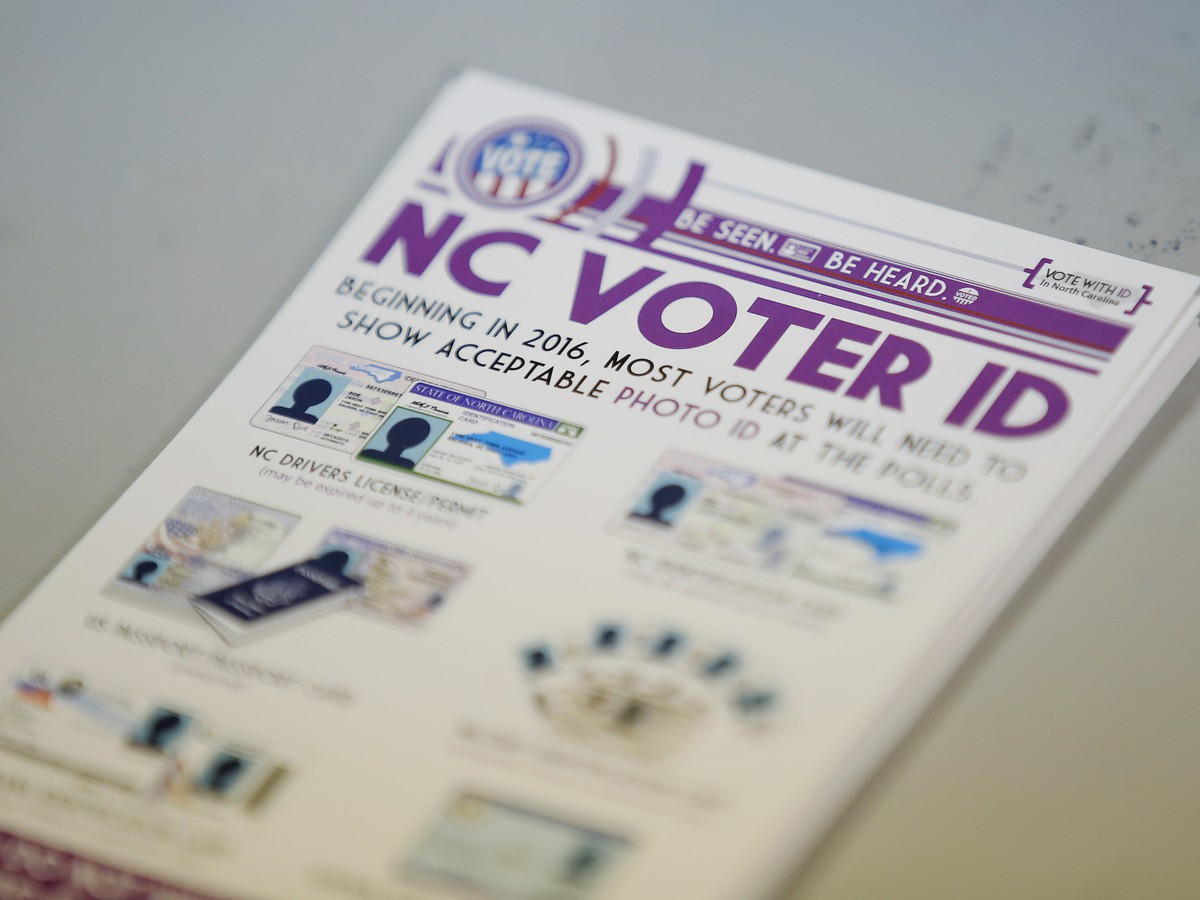 North Carolina Judges Block State's Voter ID Law, Saying It 'Discriminates Against African American Voters'