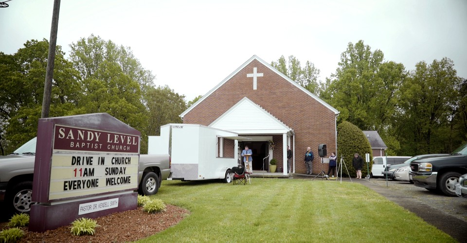 A Virginia Church Pivots to Drive-In