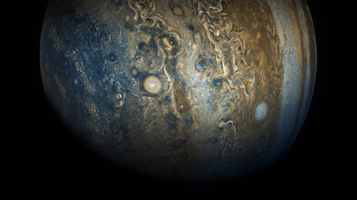 Jupiter, up close and processed