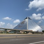 photo: the Great American Pyramid in Memphis