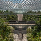 a photo of the Jewerl Changi Airport in Singapore