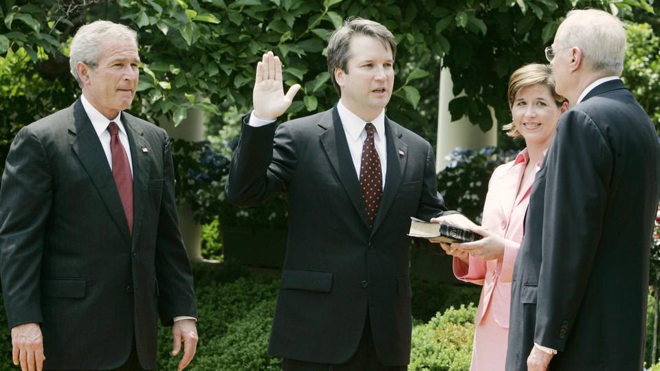 George W. Bush, Brett Kavanaugh, and Anthony Kennedy