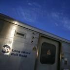 A Long Island Railroad commuter train