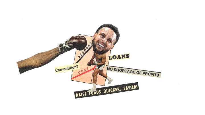 An illustration of Steph Curry.