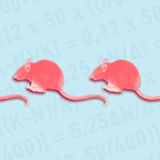 An illustration of rats is pictured.