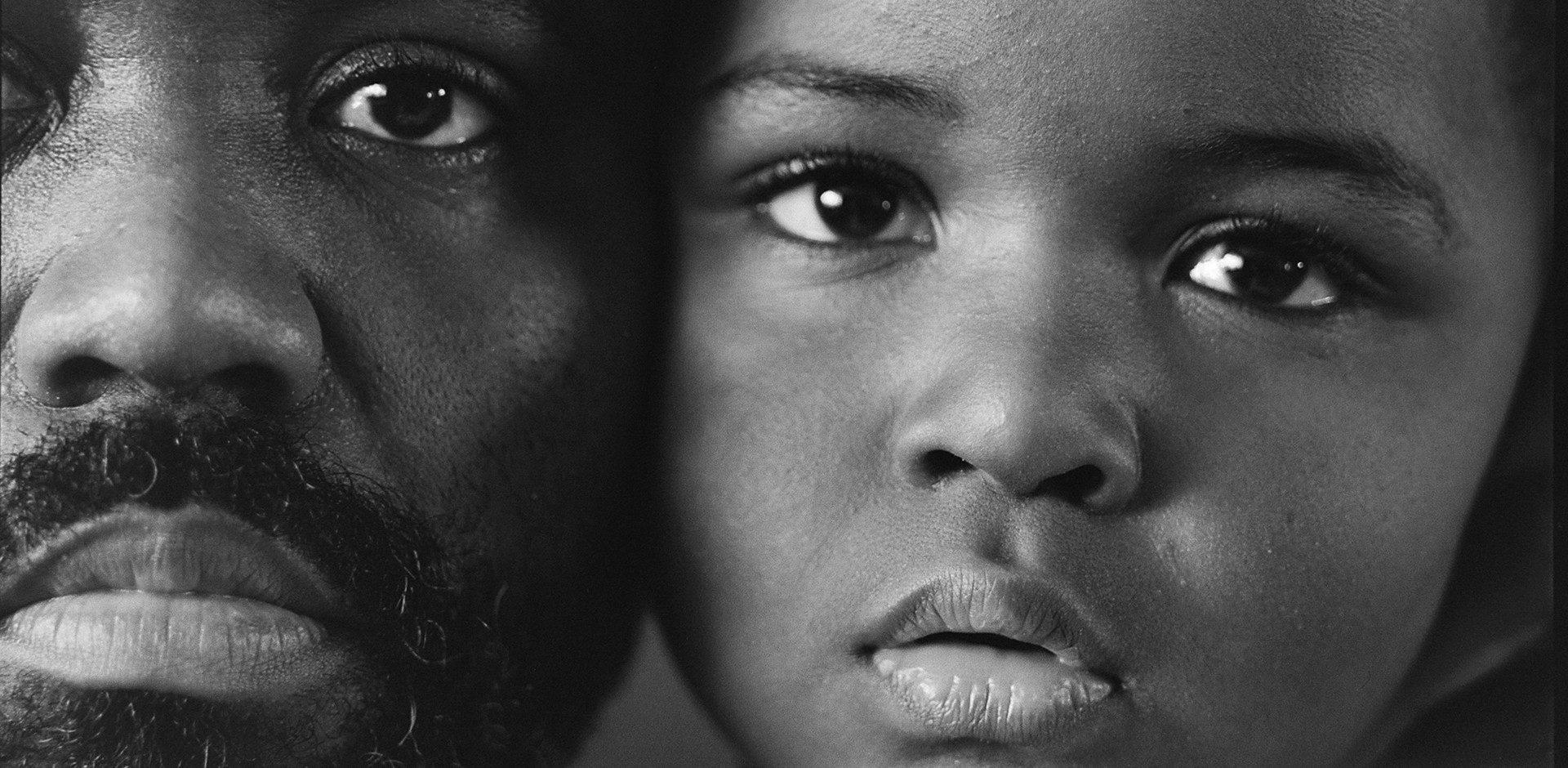 Self-portrait of Rashod Taylor and his son L. J.