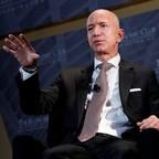 Amazon CEO Jeff Bezos speaks in Washington, D.C.