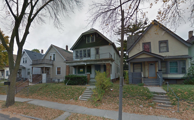 A vacant home on Milwaukee's north side.