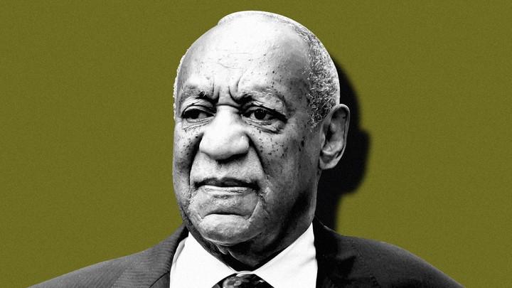 A photoillustration of Bill Cosby