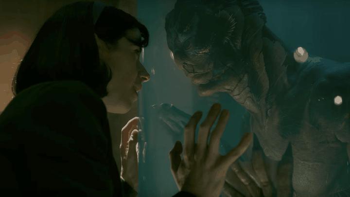 Sally Hawkins and Doug Jones in 'The Shape of Water'