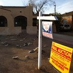 a photo of a foreclosed home in Phoenix, Arizona, in 2011.